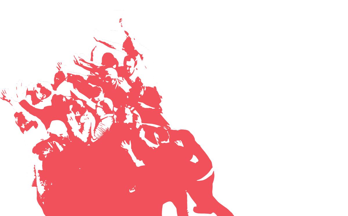 Zidne novine br6-crveno na crnom-barikada2