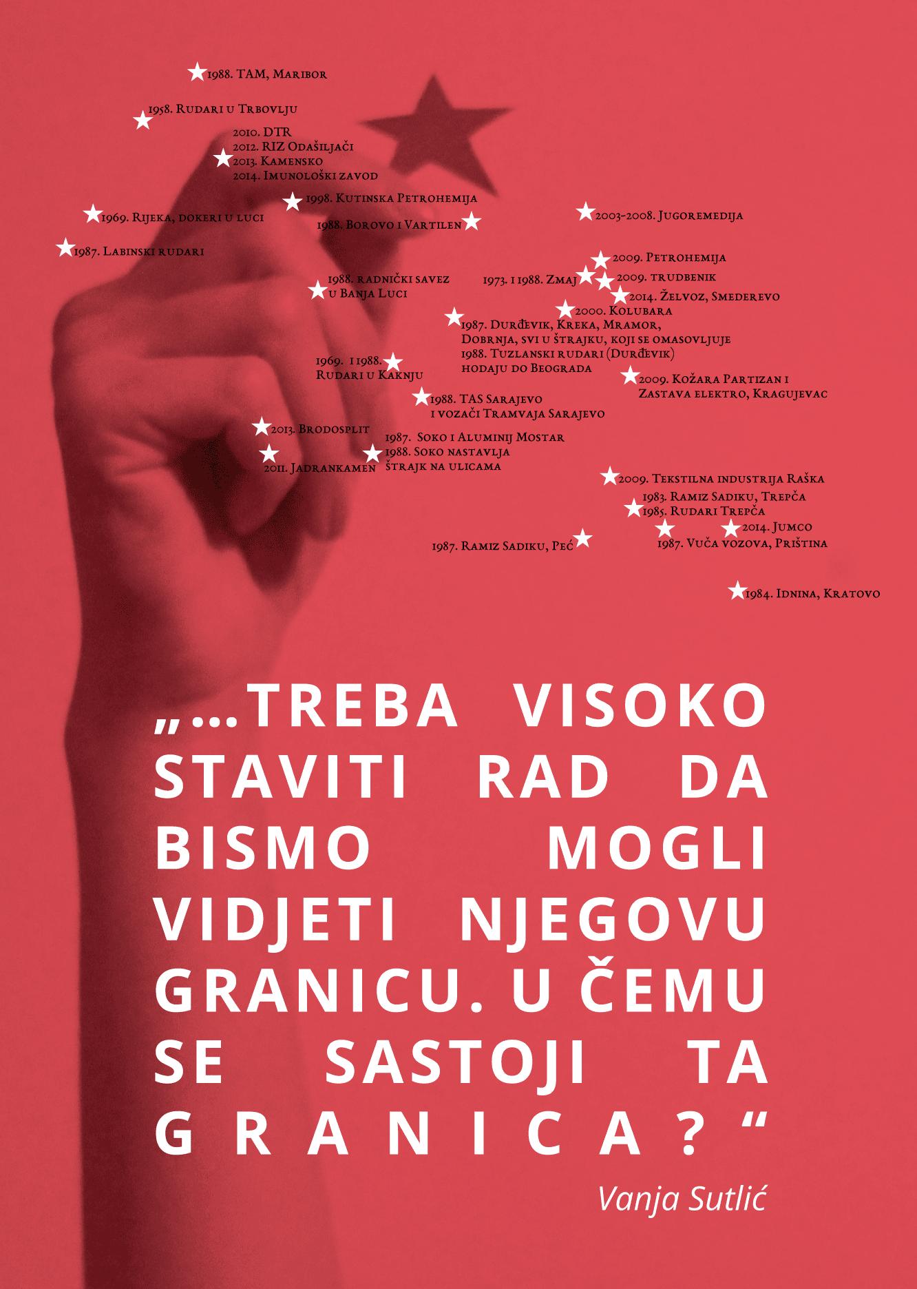 Zidne novine br6-crveno na crnom-poster